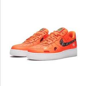 NIKE AIR FORCE 1 JDI COLLECTION LIMITED EDITION NWT